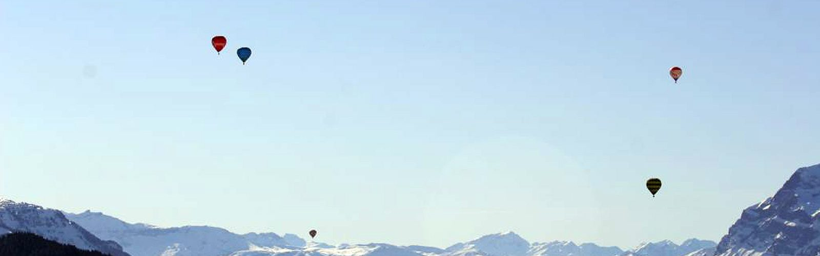 Hot Air Balloons over Morzine Avoriaz