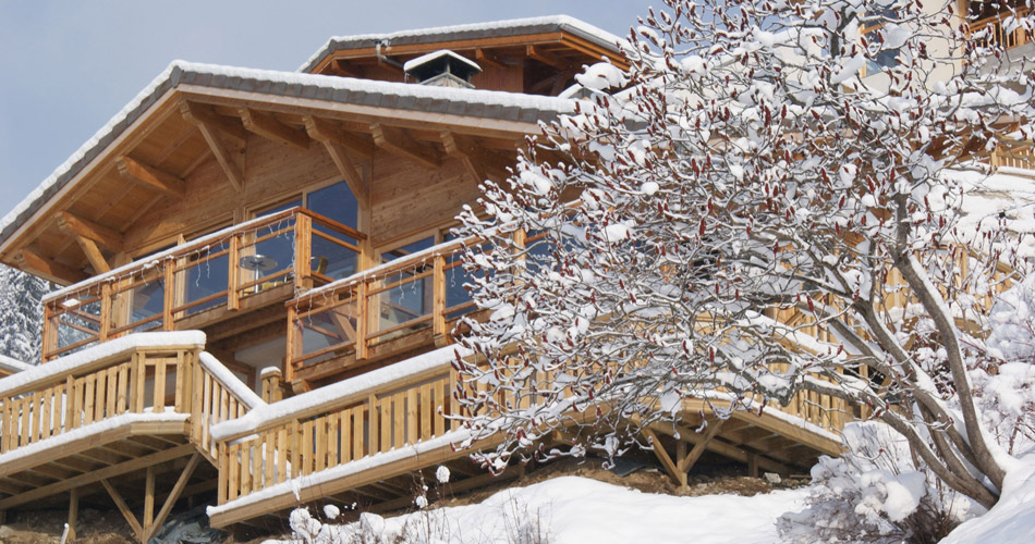 Chalet Caché external outside lodge view