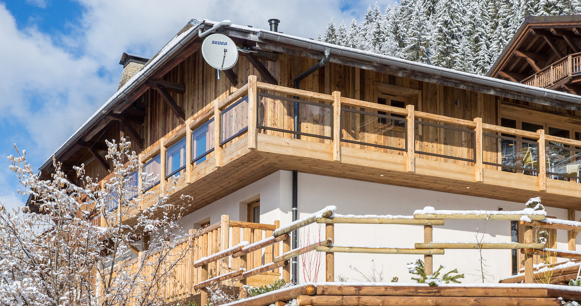 Chalet Perdix external outside view
