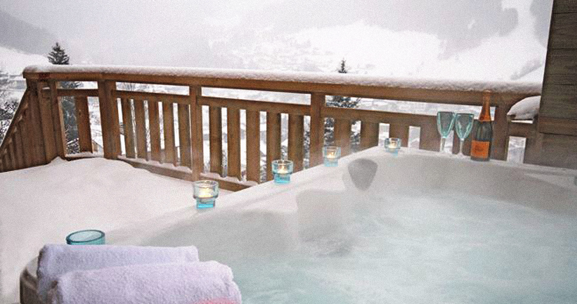 Chillout Mountain hot tub stunning views relax heat