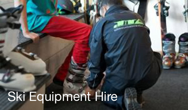 ski hire fitting delivery