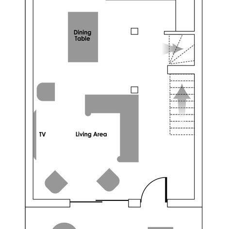 Acellere First Floor Floorplan
