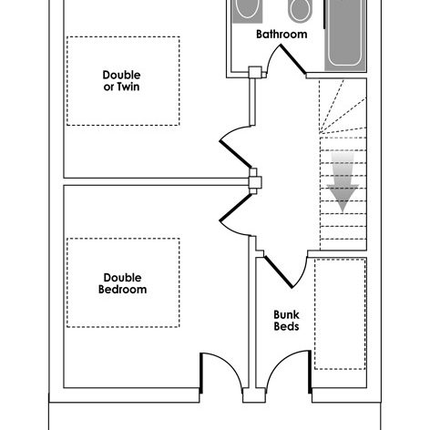 Acellere Second Floor Floorplan