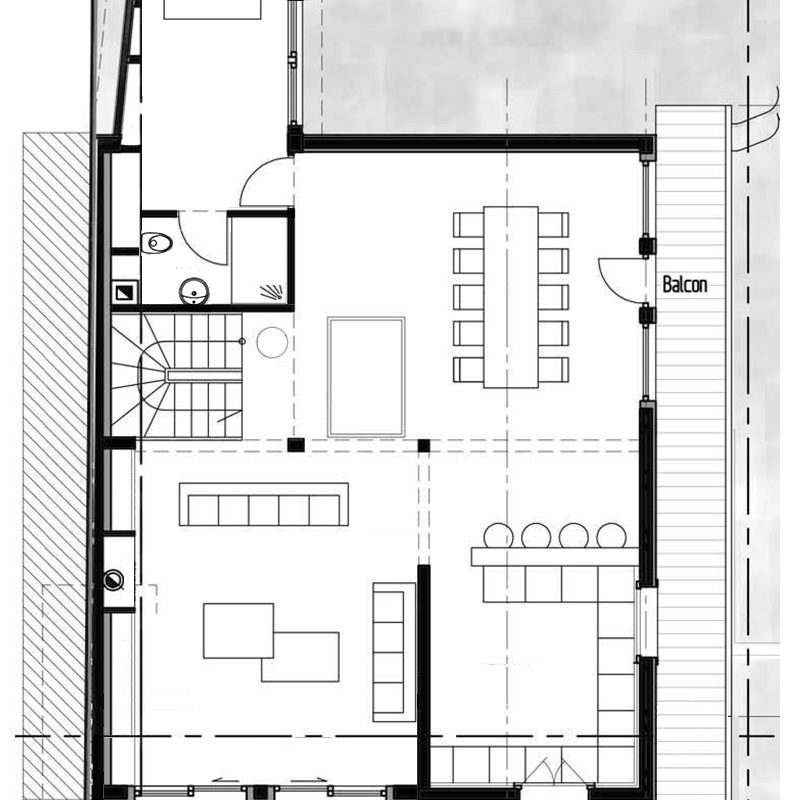 Chalet Perdrix second floor plan
